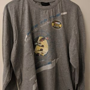 Nascar Race to the Finish Line Long Sleeve Size L